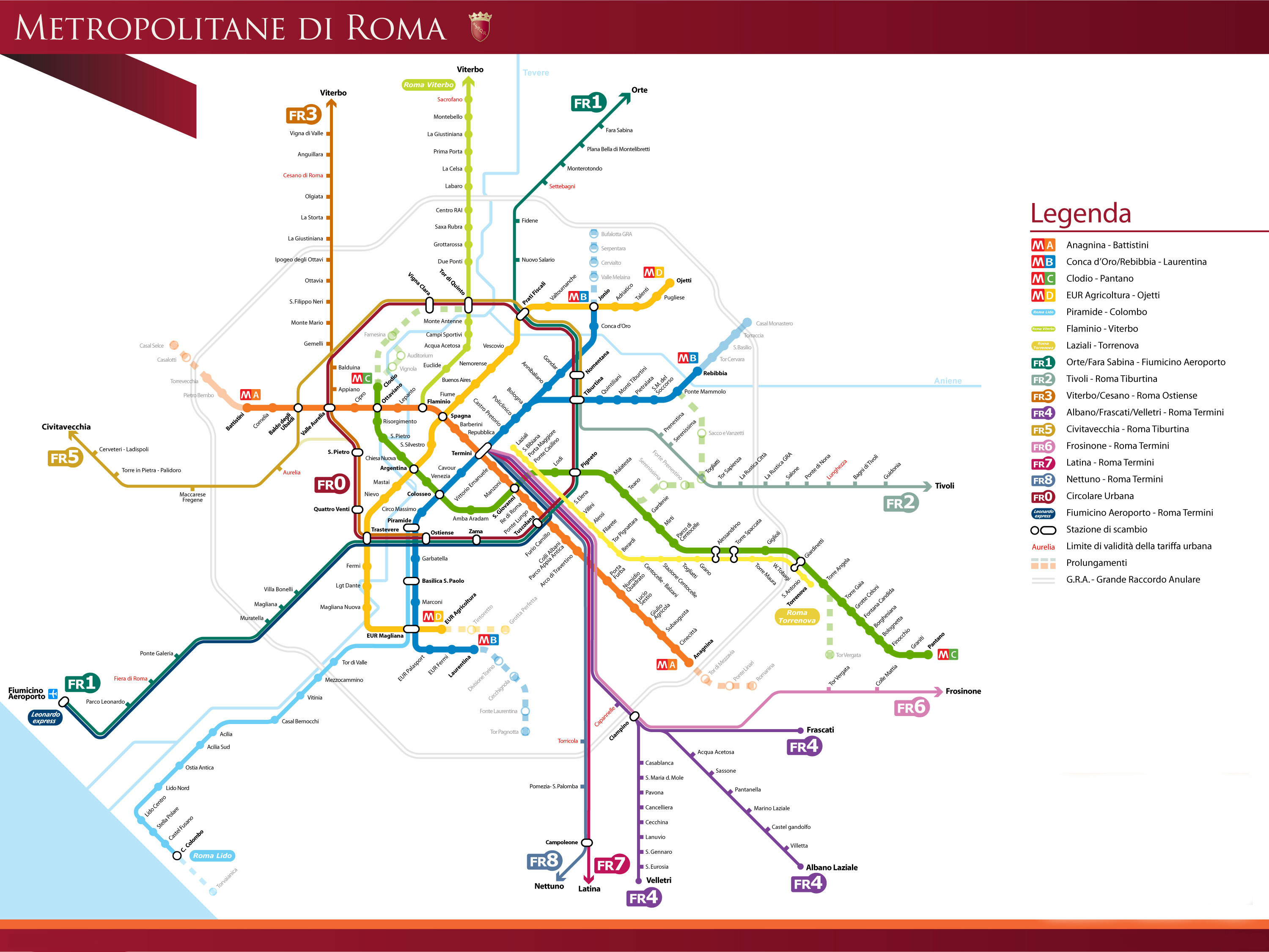 Cartina Metropolitana Roma Pdf.Tom S House Roma Directions And Transport